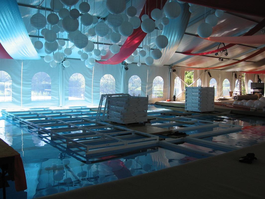 Swimming Pool Dance Floor
