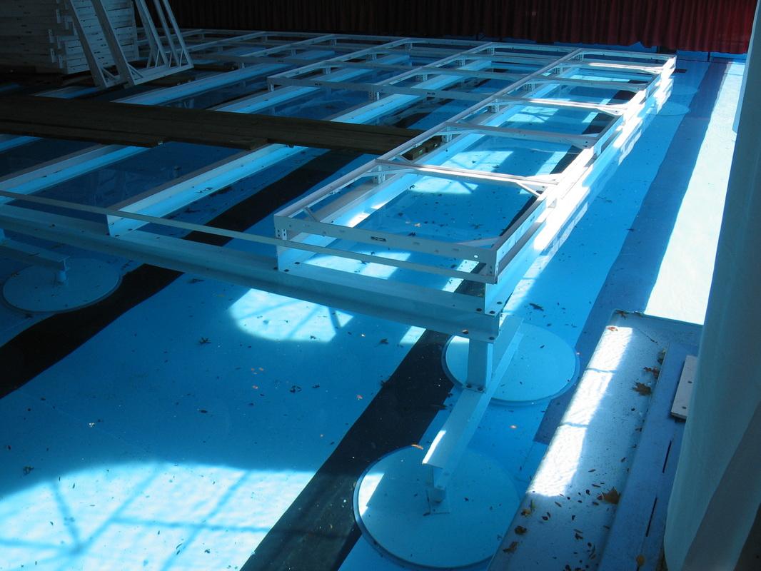 Swimming pool dance floor for Pool floor